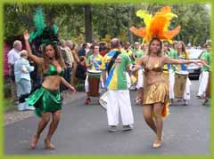 Samba festival in Bad Wildungen.