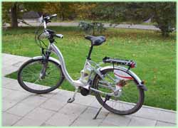 E-biking in het National-Park.